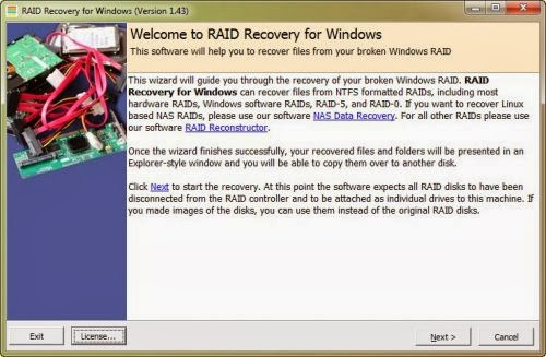 RAID Recovery for Windows 2.20 Runtime