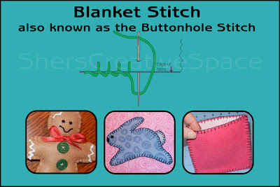 blanket stitch, blanket stitch tutorial, applique tutorial, sewing tutorial, embroidery tutorial