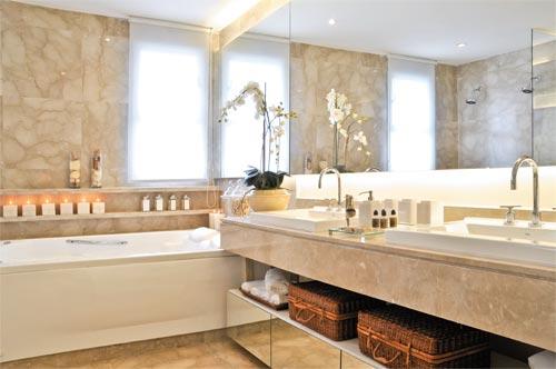 arquiteturaCH Banheiros com muito luxo! -> Um Banheiro Com Banheira