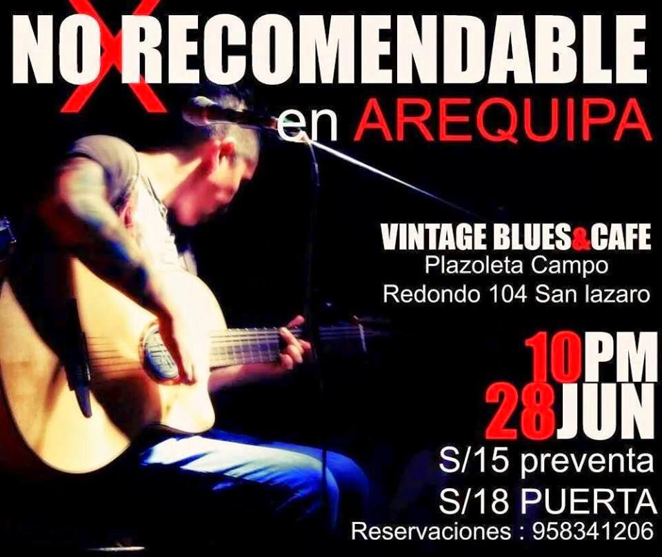 No recomendable en Arequipa