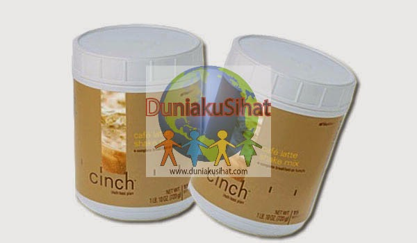 Shaklee Cinch Shake Mix (Canister) - Cafe Latte