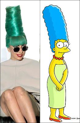 Inspirasi Lady Gaga Saat Bergaya Unik