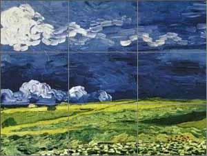 Regle des tiers - Van Gogh
