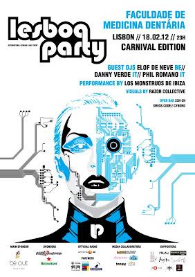 Lesboa Party // Poster