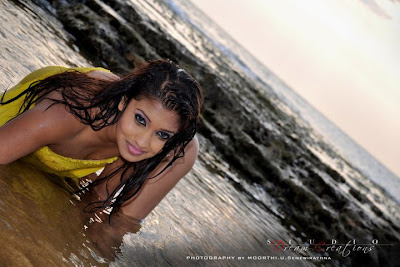 Srilankan Model Fallon Michelle bikini