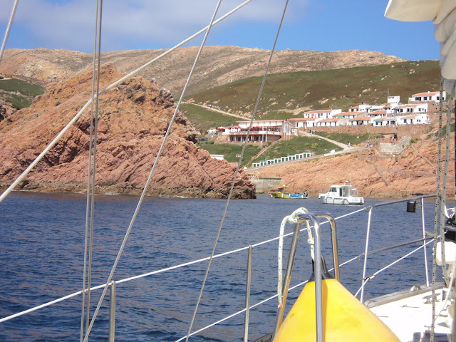 Dock in Berlengas