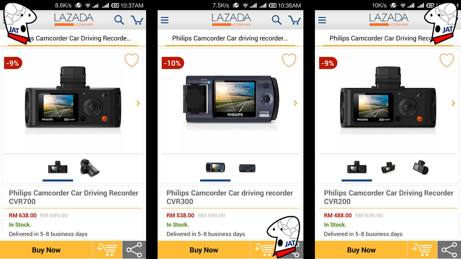 Philips Driving Camera CVR300 - sold online.