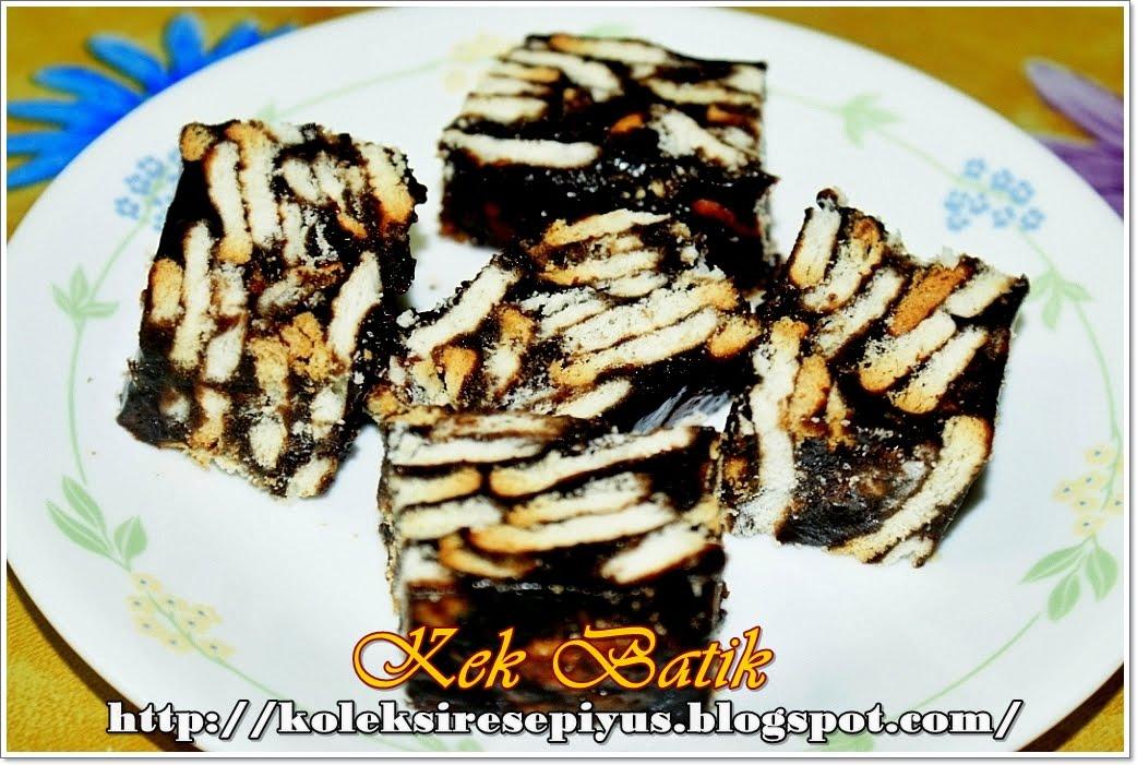 Resepi+Kek+Batik+Sedap koleksi resepi yus kek batik click for details ...