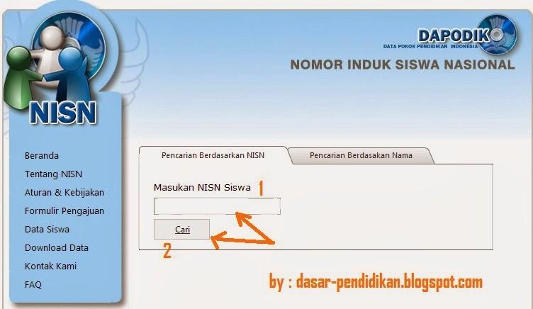 Cara Mencari dan Cek NISN SD, SMP, SMA-SMK Secara Online