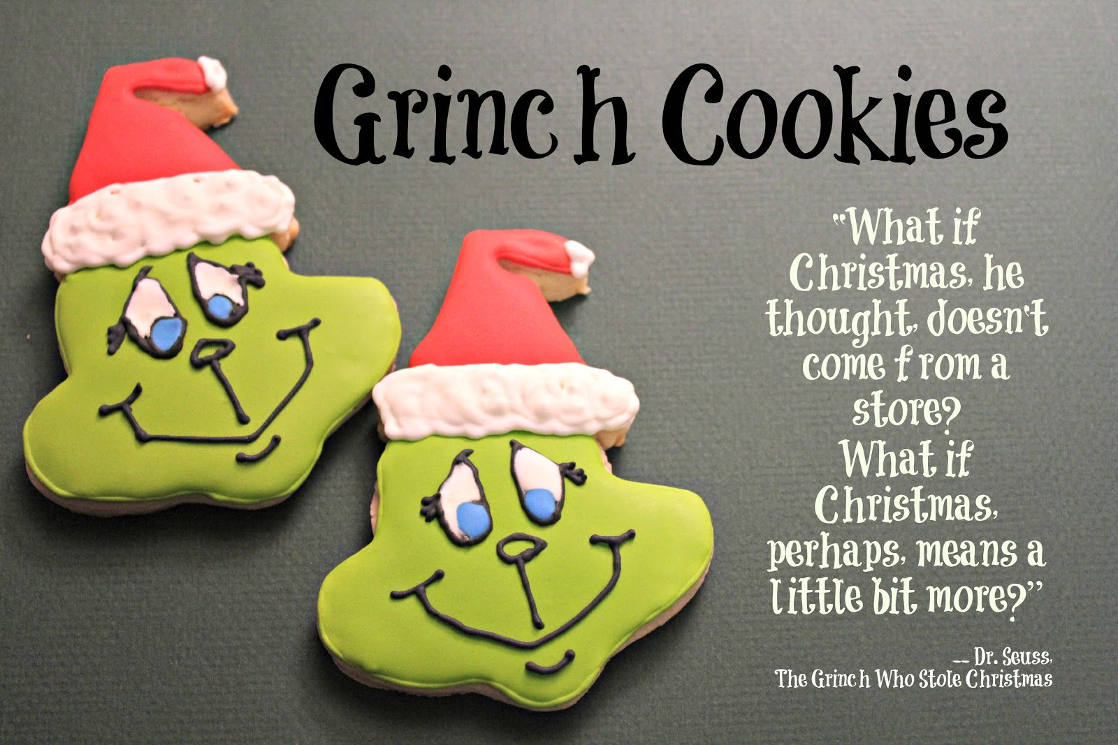 Grinch Face Printable Was the grinch who stole