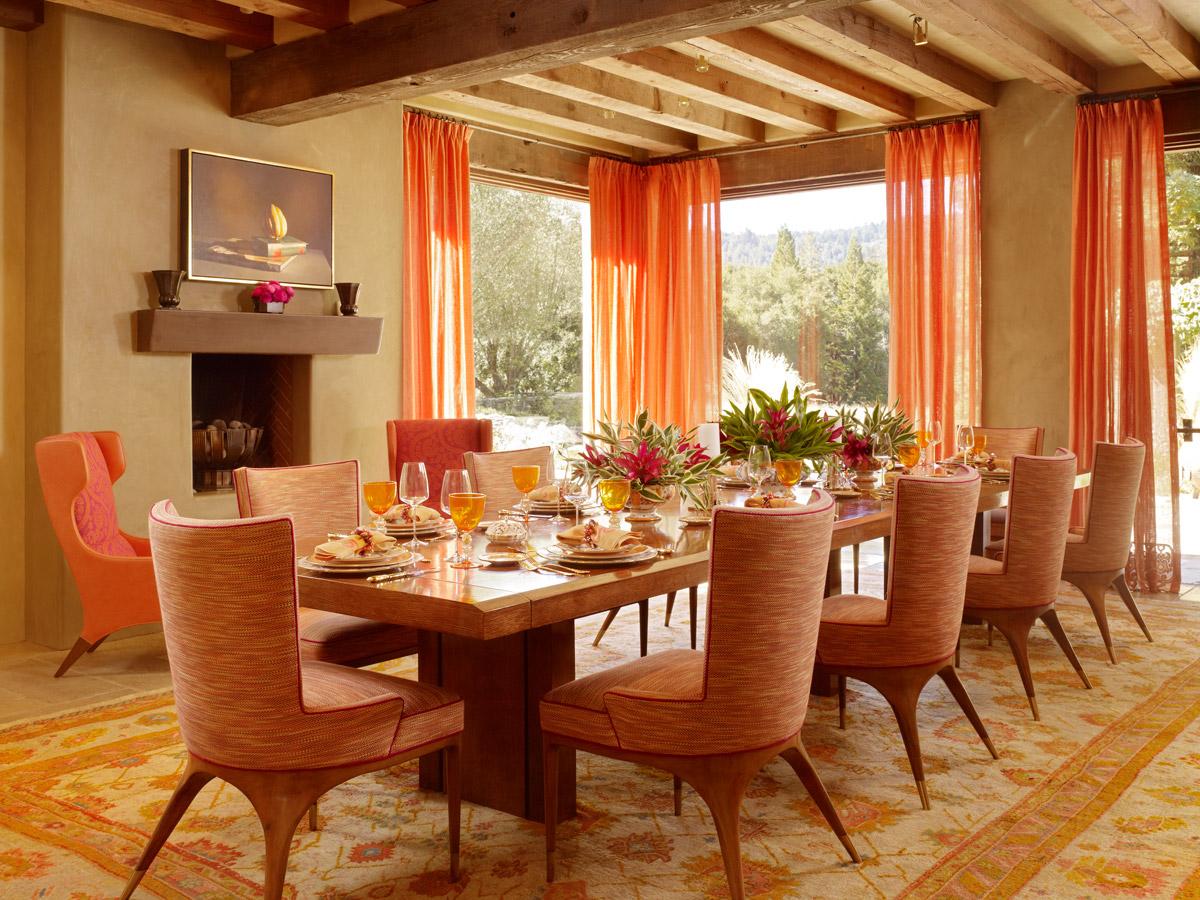 seventies dining room