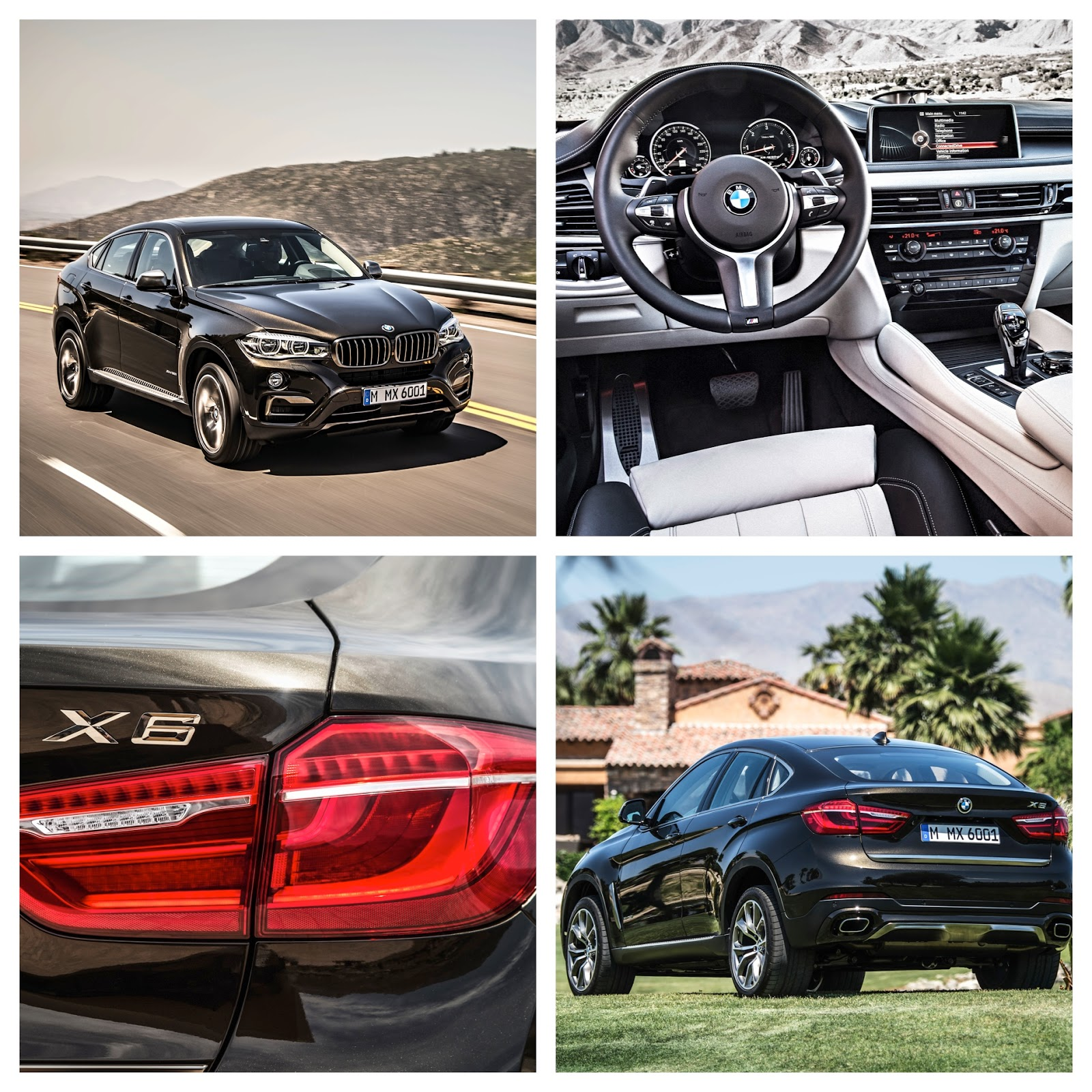 Bmw X6 S: The New BMW X6 And X6 M50d