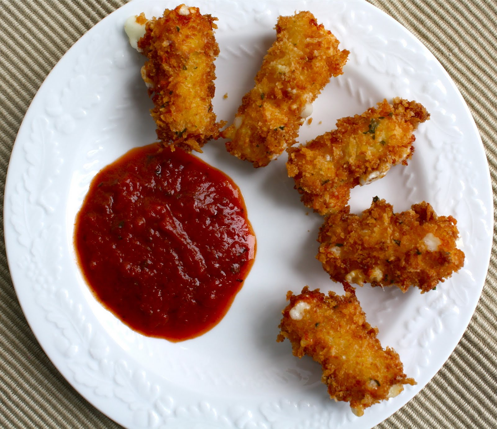 Mozzarella Sticks Recipe — Dishmaps