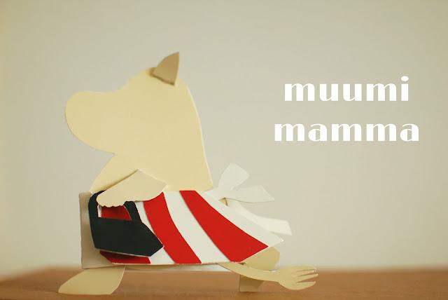 paint chip moomin / paperi muumimamma