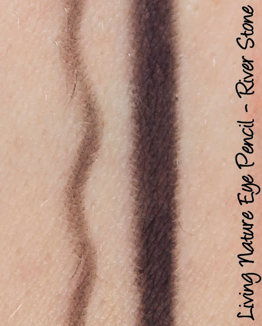 Living Nature Eye Pencil - River Stone Swatches & Review