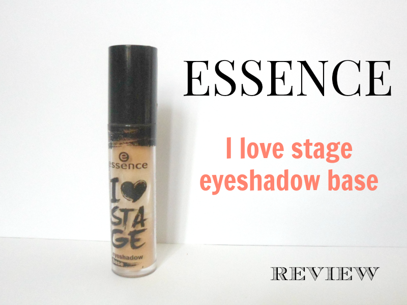 Essence I love stage eyeshadow base - Review