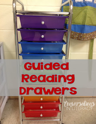 Guided Reading Drawer Cart