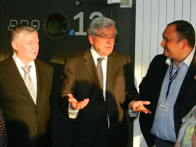Echecs : Karpov et Chevènement à Montbéliard aux Championnats de France d'échecs Jeunes 2014