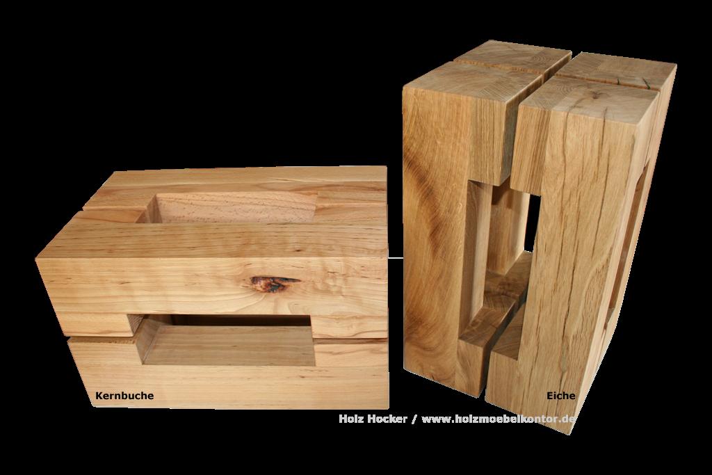 wohnkantine wohnideen vom holzm belkontor holz hocker. Black Bedroom Furniture Sets. Home Design Ideas