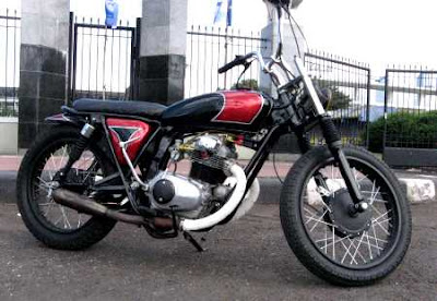 Honda CB 200 Modif Brat Style Chopper   Classic and Vintage