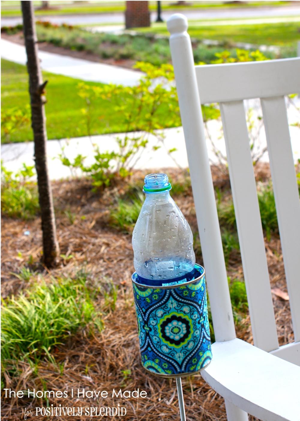 Outdoor Drink Holder Tutorial - Positively Splendid ...