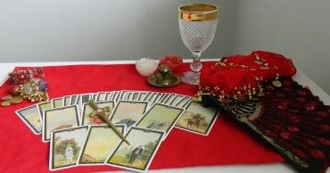 A mesa da Cigana Samara