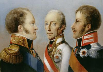 'La Santa Alianza', tomada de http://www.escuelapedia.com