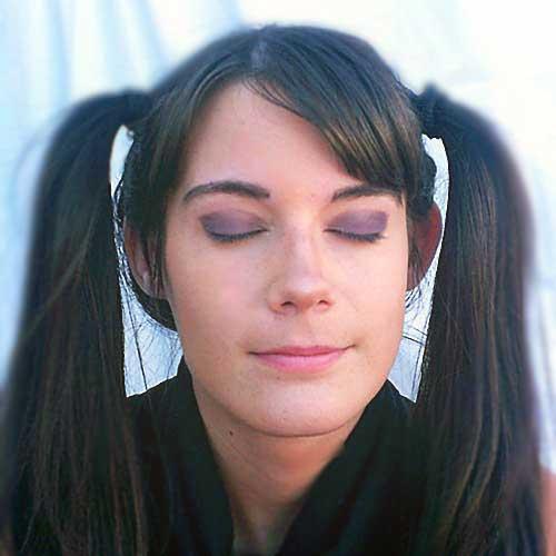 Sombras ojos moradas monika sanchez guapa al instante