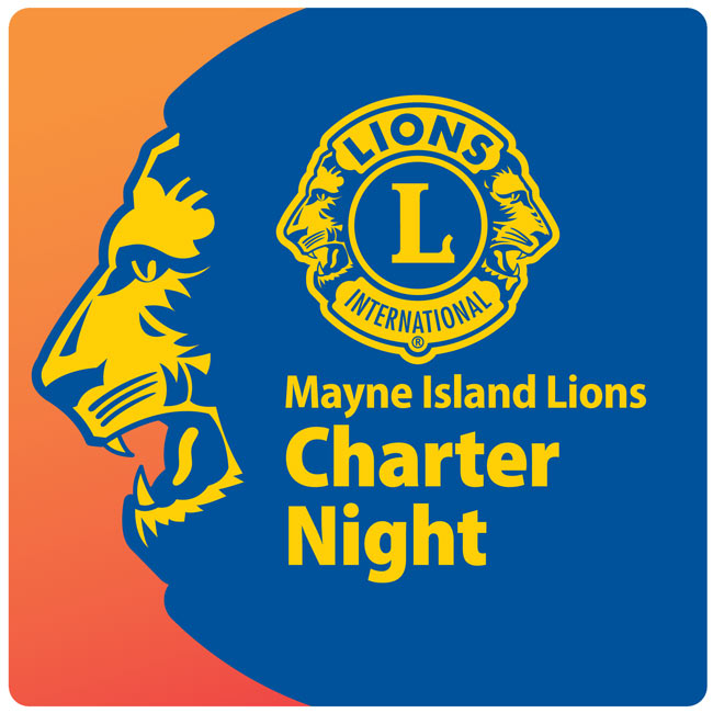 The mayne island lions club will celebrate its 42nd charter night with