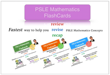 PSLE Mathematics Flashcards. Must have STUDY TOOL for PSLE Math