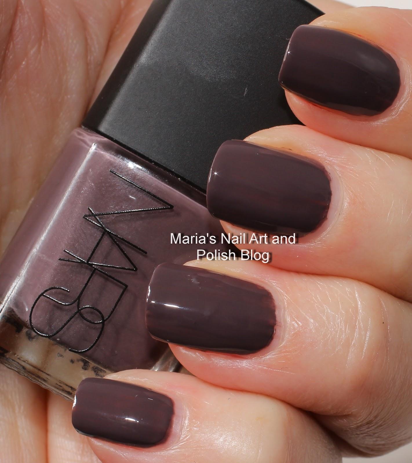 Marias Nail Art And Polish Blog Flushed With Stripes And: Marias Nail Art And Polish Blog: NARS Beautiful Stranger