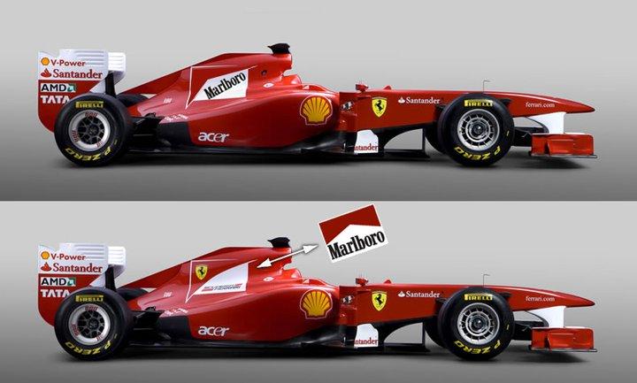 Te Arranco Las Pegatinas Marlboro Y Ferrari Lo Que Uni 243