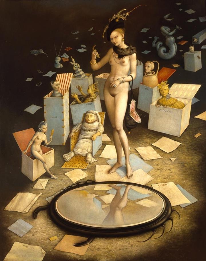 Claude Verlinde 1927 | French Surrealist painter