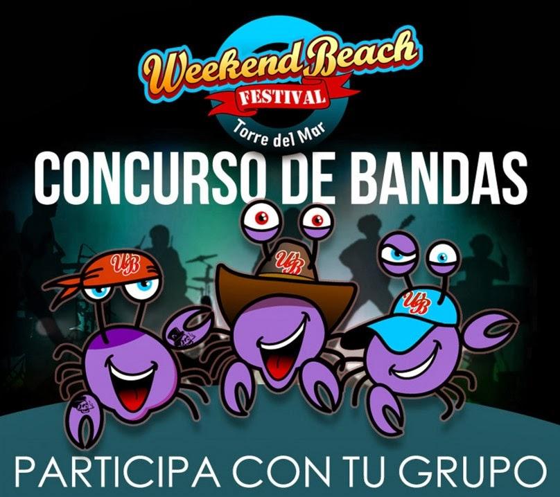 Concurso de bandas emergentes y djs noveles Weekend Beach Festival 2014