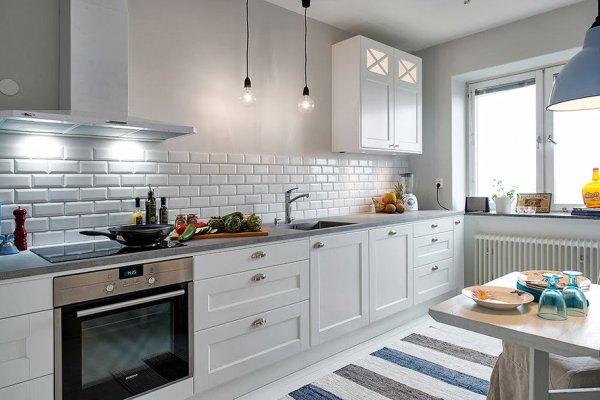 Una cocina tipicamente nordica decoraci n for Cocina estilo nordico