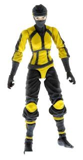 """Hasbro GI Joe Retaliation Kim """"Jinx"""" Arashikage figure"""