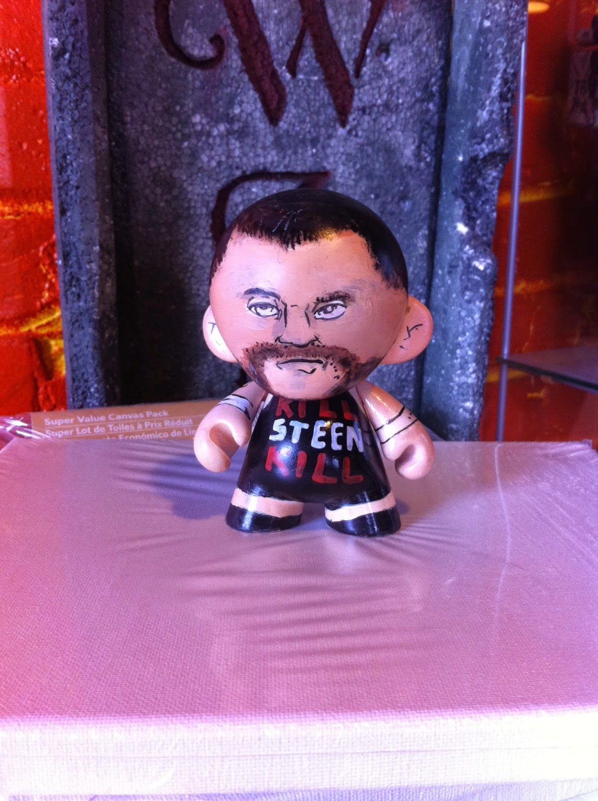 kevin steen, pro wrestler, HWA, WWE, WWe toys, toys, vinyl toys
