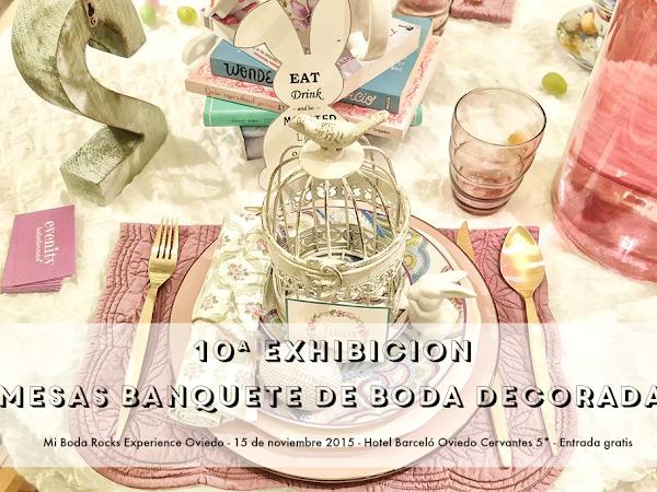Exhibición Mesas Wedding Planner & Designer Oviedo