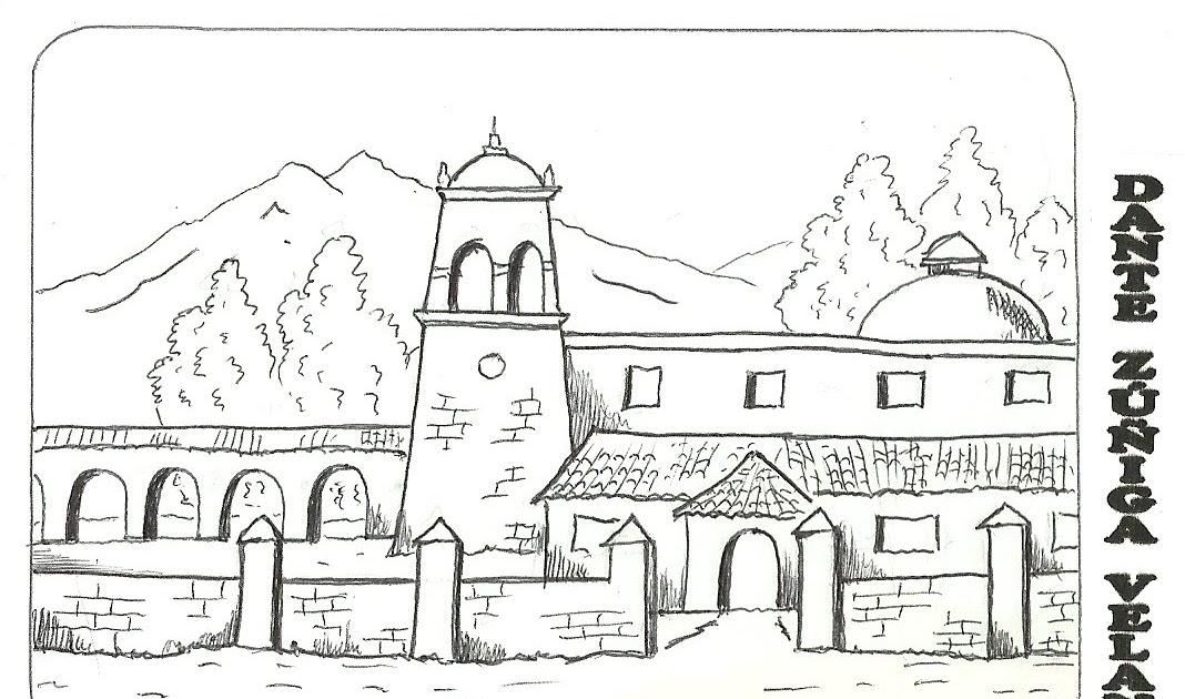 Paisajes para colorear paisajes para colorear - Fotos de casas para dibujar ...