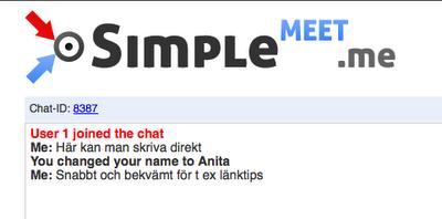 SimpleMeet.me - chattjänst