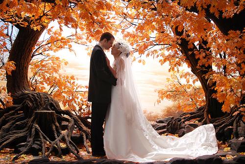Fall Wedding A Wedding for adding a Seasons Effect Unique
