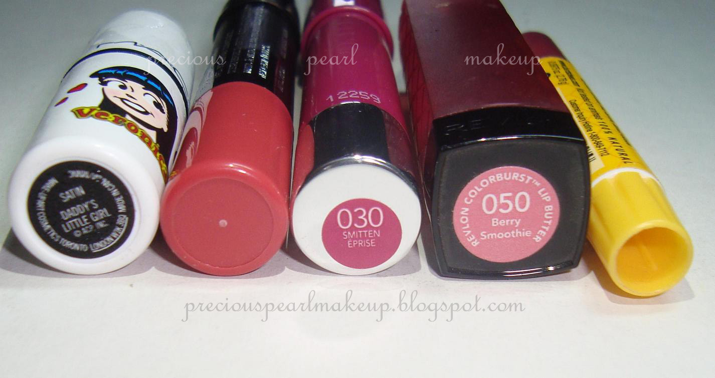 preciouspearlmakeup: My current top 5 lip products
