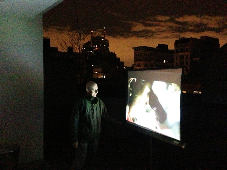"Pawel Wojtasik, video work, ""India"""