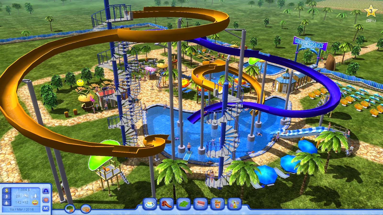Uncategorized Water Park Games water park tycoon game alarbygames game