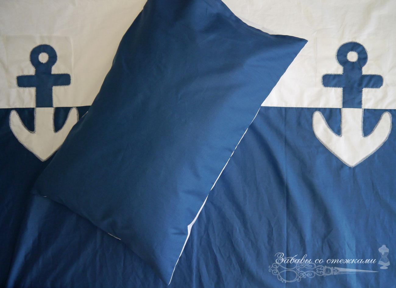 детское постельное бельё морской тематики