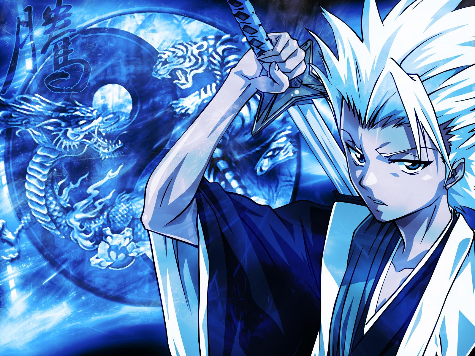 Anjo azul 4k hd wallpaper - Hitsugaya Toushirou