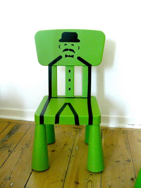 gabulle in wonderland diy du mercredi deux chaises mammut pour deux gentlemen. Black Bedroom Furniture Sets. Home Design Ideas