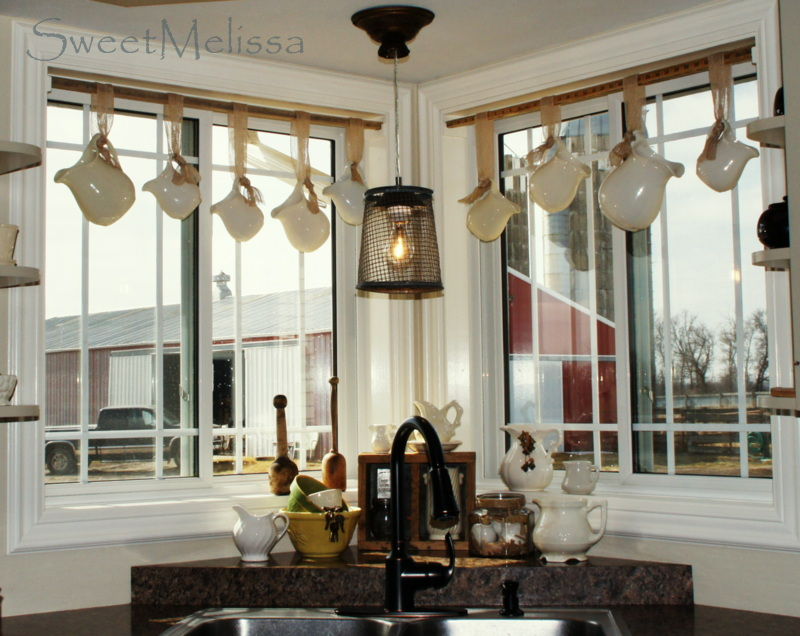 WhisperWood Cottage: 15 Creative Window Treatments: Features from The ...