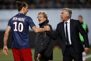 PSG vs Real Madrid :Ibrahimovic vs Ronaldo