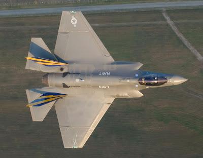 Avião de guerra F-35C